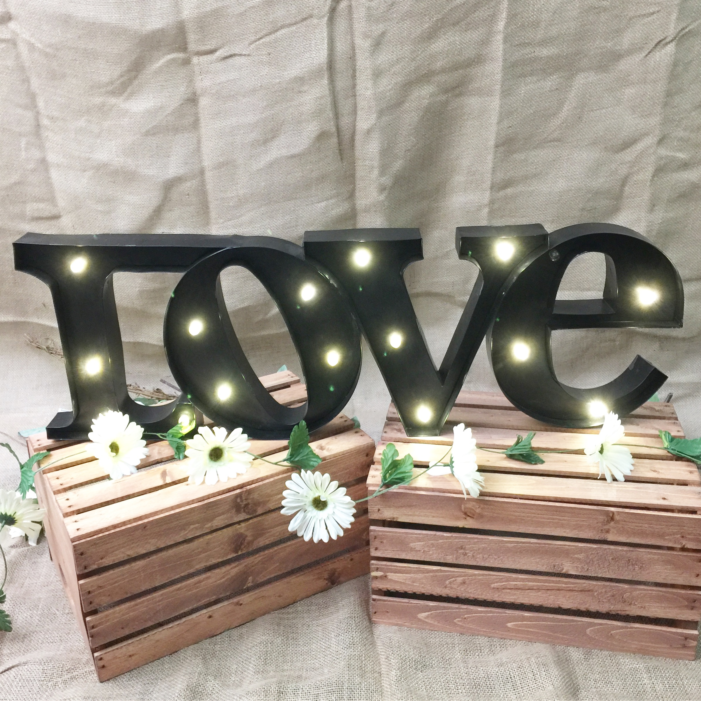 Love Marquee Light Letters Sign