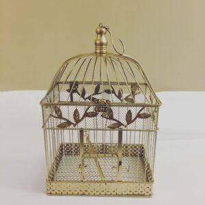Gold Bird Cage