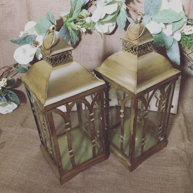 Antique Gold Lantern