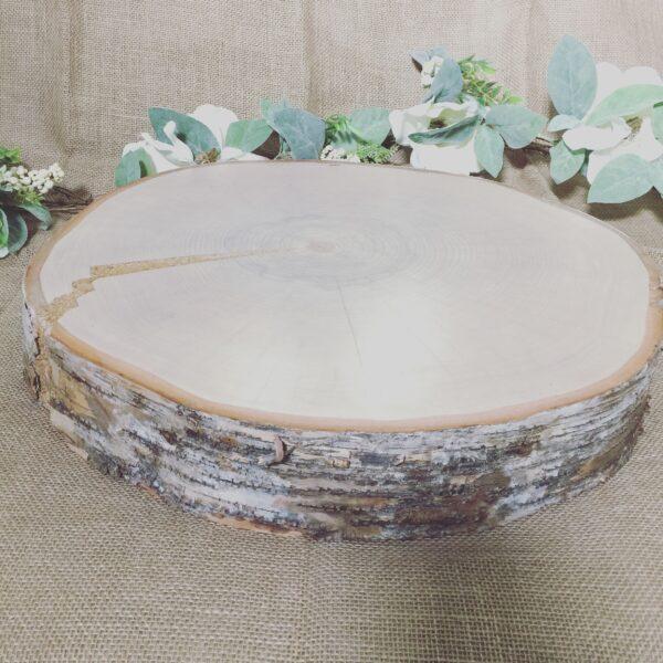 Cake Wooden Slab Slice