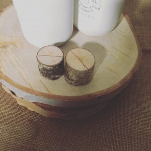 Mini Wooden Rustic Card Holders