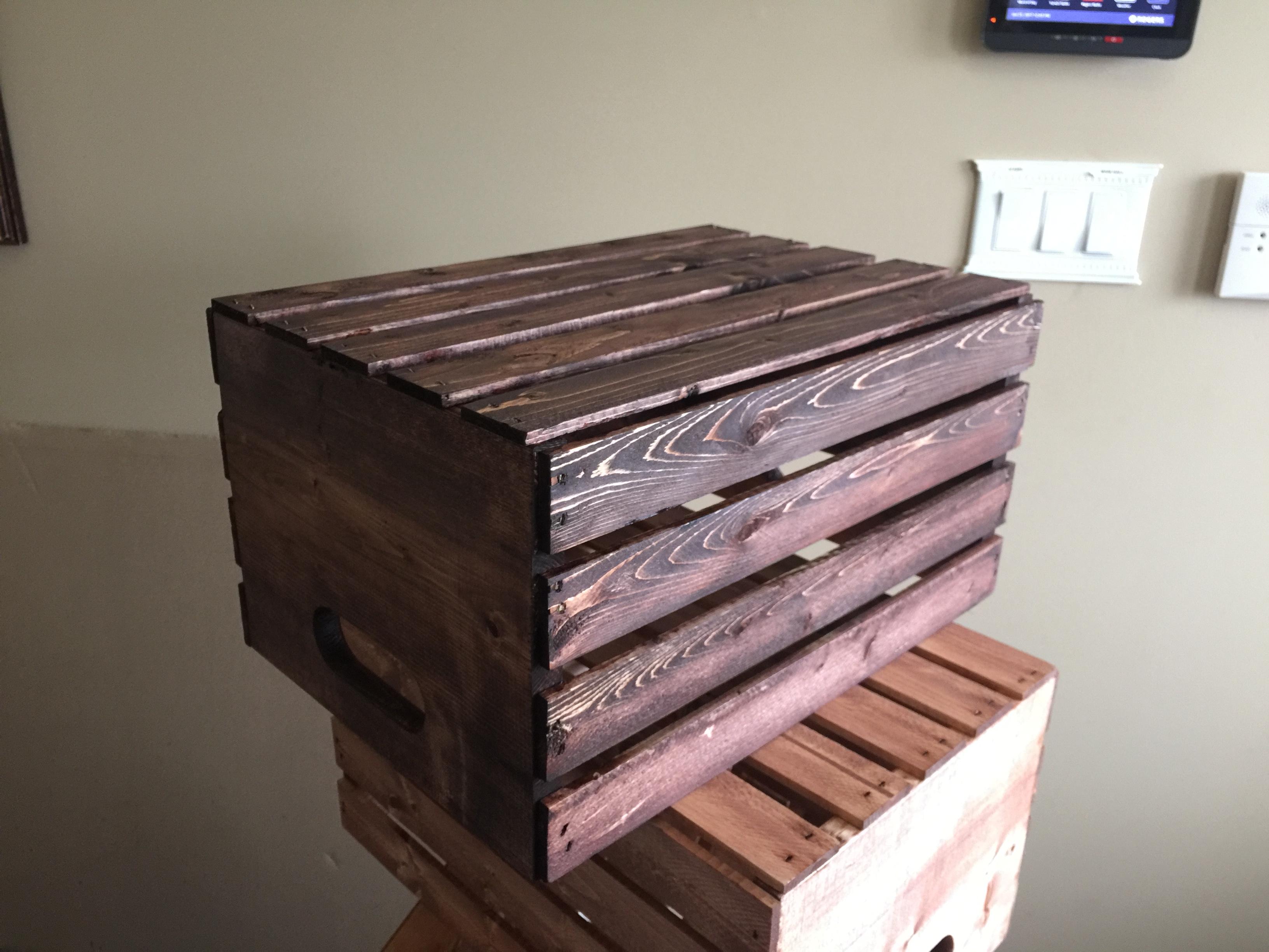 Rose Gold Wooden Crate For Rent | Toronto + GTA | VintageBASH