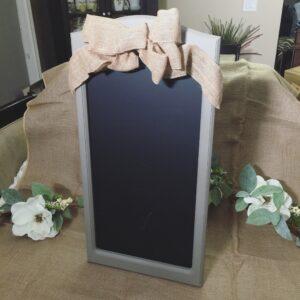 Vintage Gray Chalkboard