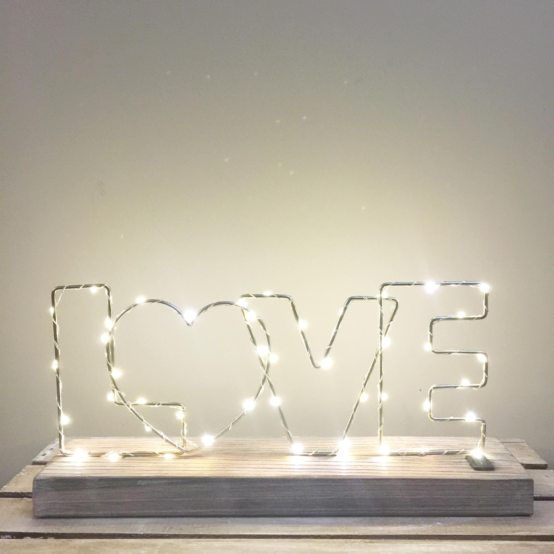 Min Love Marquee Light