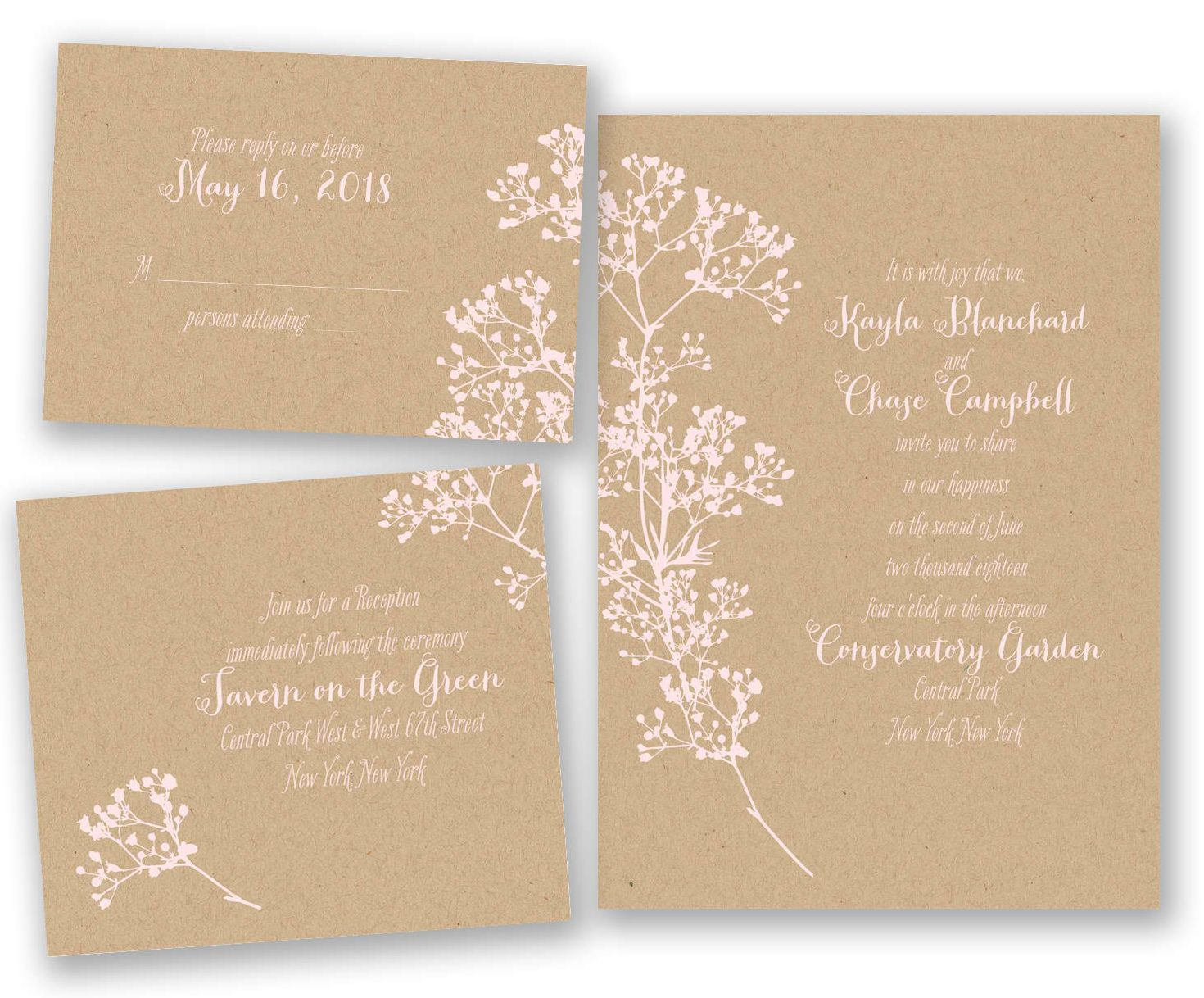 10 places to buy rustic theme wedding invitations vintagebash photo from httpinvitationsdavidsbridalwedding invitations naturerustic invitations 2947 db36119 delicate floral bundle basicpetalo monicamarmolfo Gallery