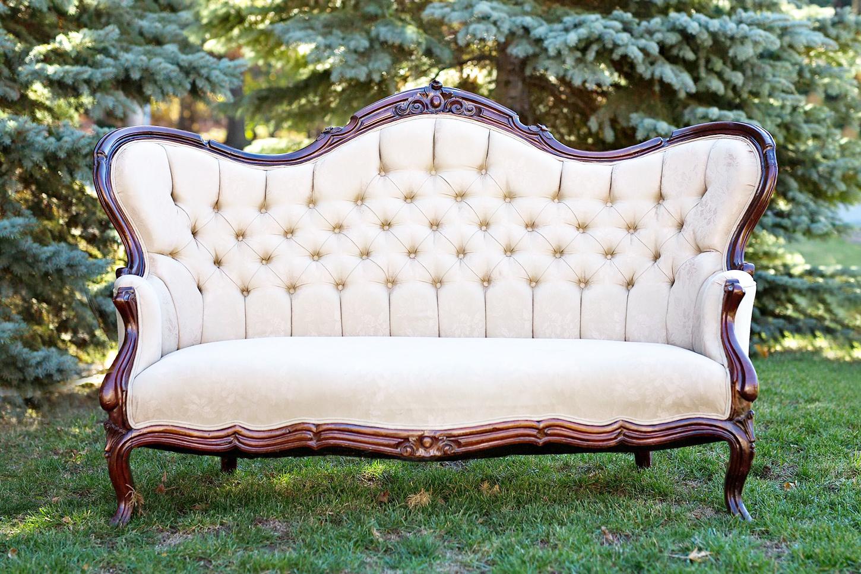Vintage French Sofa For Rent Toronto