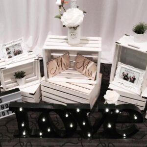 white-vintage-setup