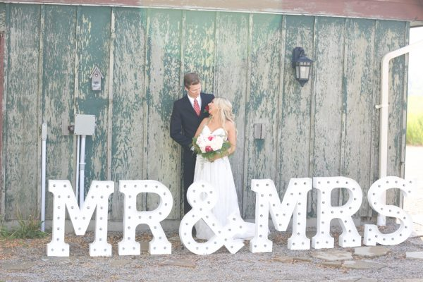 Huge MR & MRS Marquee Letters For Rent