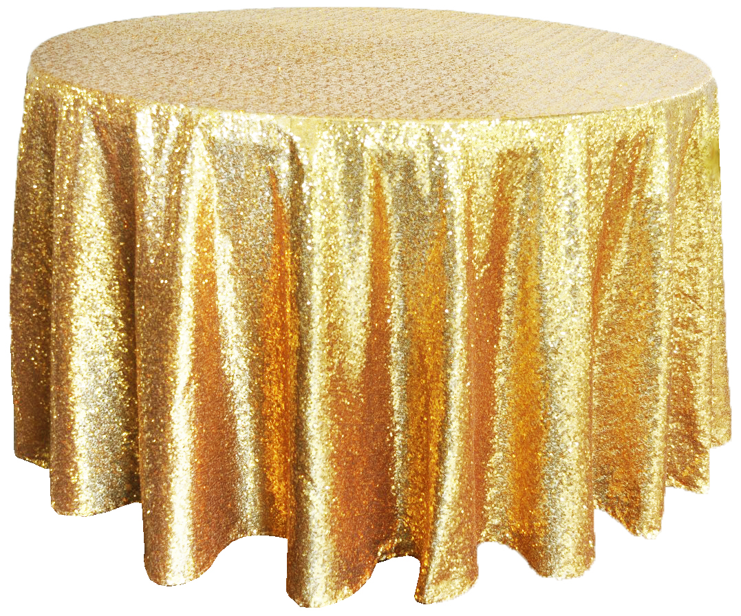 Gold Sequin Tablecloth For Rent  c784d1f6fcac
