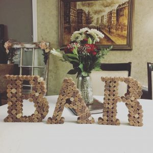 Bar Letters