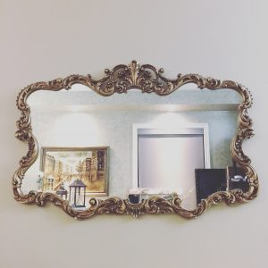 Gold Ornate Vintage Mirror
