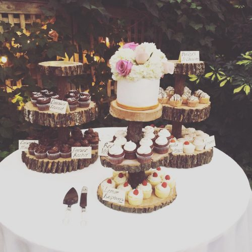 Abby 3 Tier Wooden Cupcake Stand