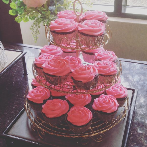 Gold Cupcake Stand