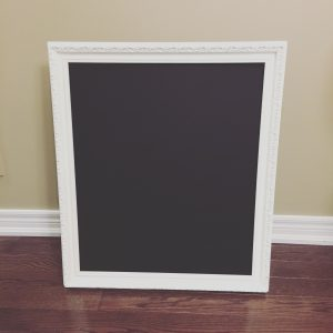 Medium White Chalkboard