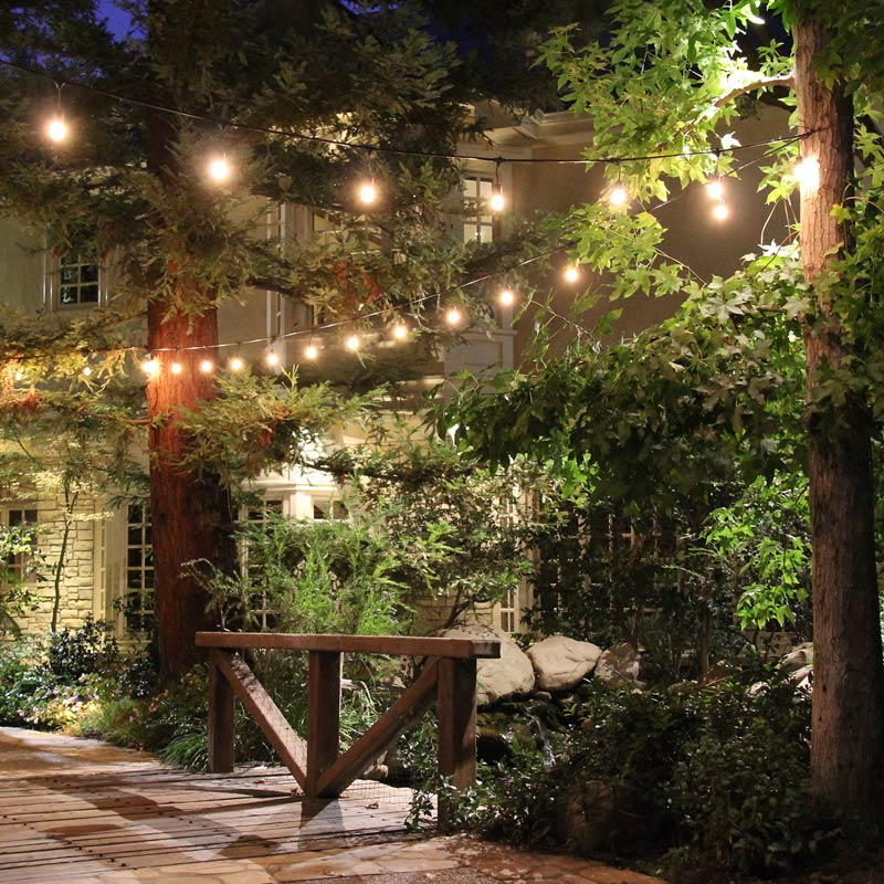 Outdoor Patio Lights At Costco: Jas Vintage Globe Lighting Rental