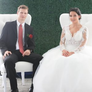 King & Queen Wedding Chairs For Rent