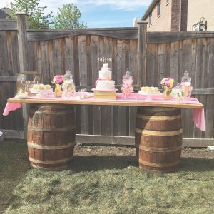 Wooden Wine Barrels Whiskey For Rent
