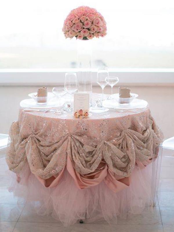 Rent White Tulle Table Skirt Twelveskip