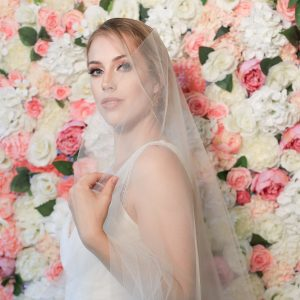 Flower Blush Pink Backdrop For Rent