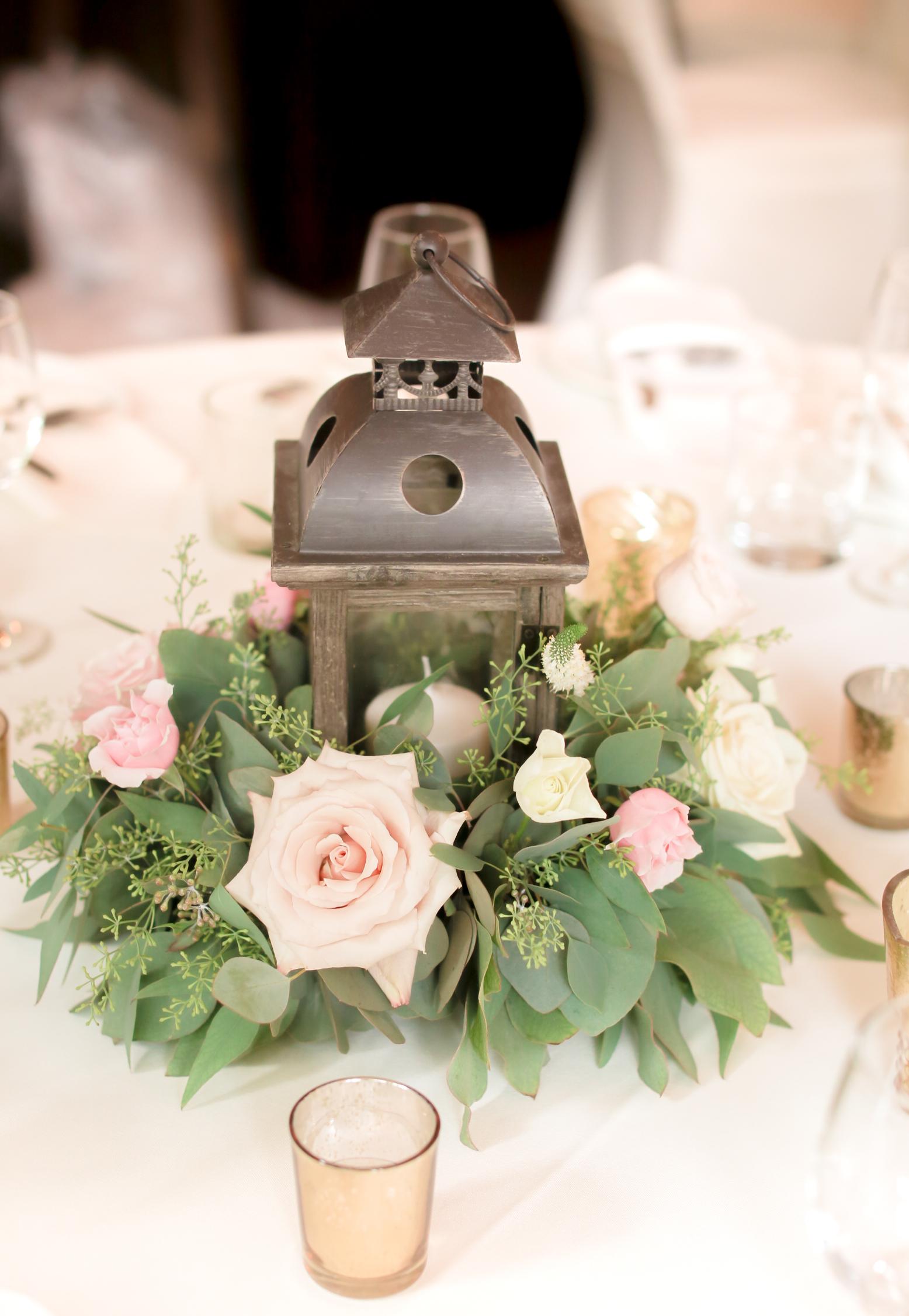 Wedding Lantern Centerpiece