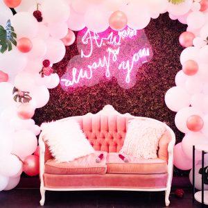 Pink Blush Loveseat
