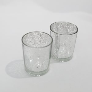 Silver Votive Candle Holders