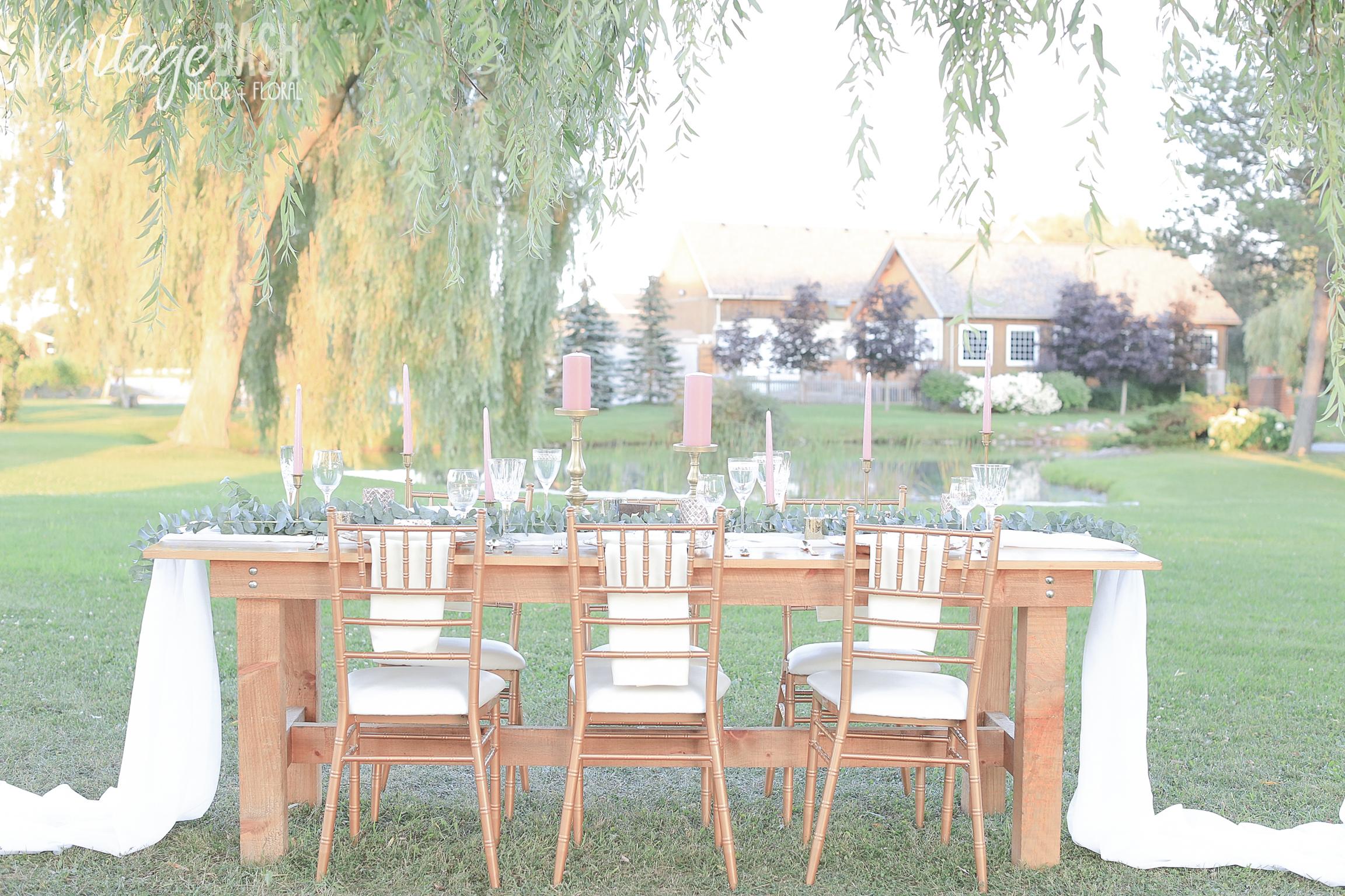 Simple Greenery Theme Wedding Idea | VintageBash