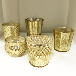 gold votive candles hofland