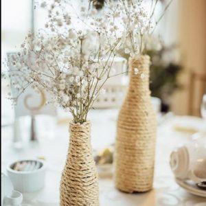 burlap vases toronto for rent