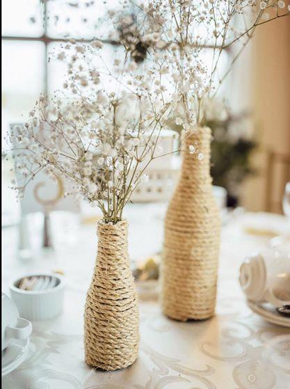 burlap vases toronto for rent