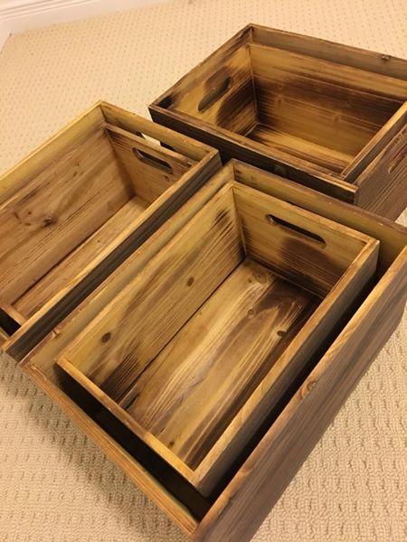 wooden crates Michael
