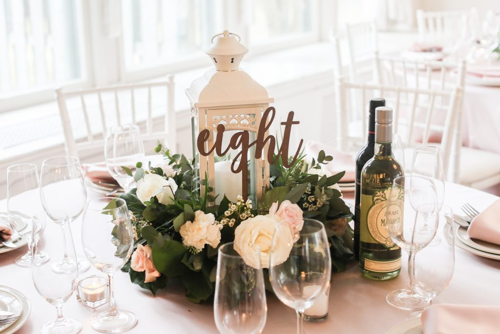 Wedding Design Inspiration: Vintage Chic Theme (Blush, Peach & White)