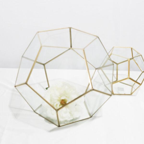Large Gold Terrarium