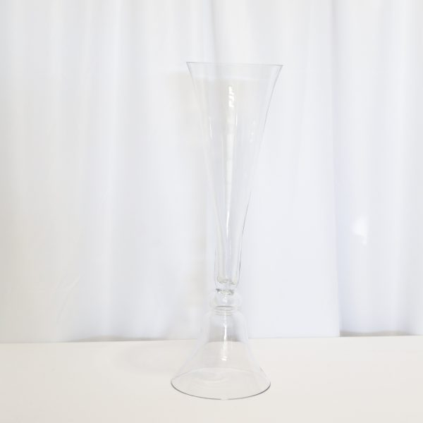 Clear Reversible Vase