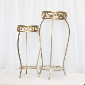 Gold Side Accent Side Table