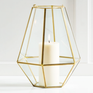 Gold Geometric Large