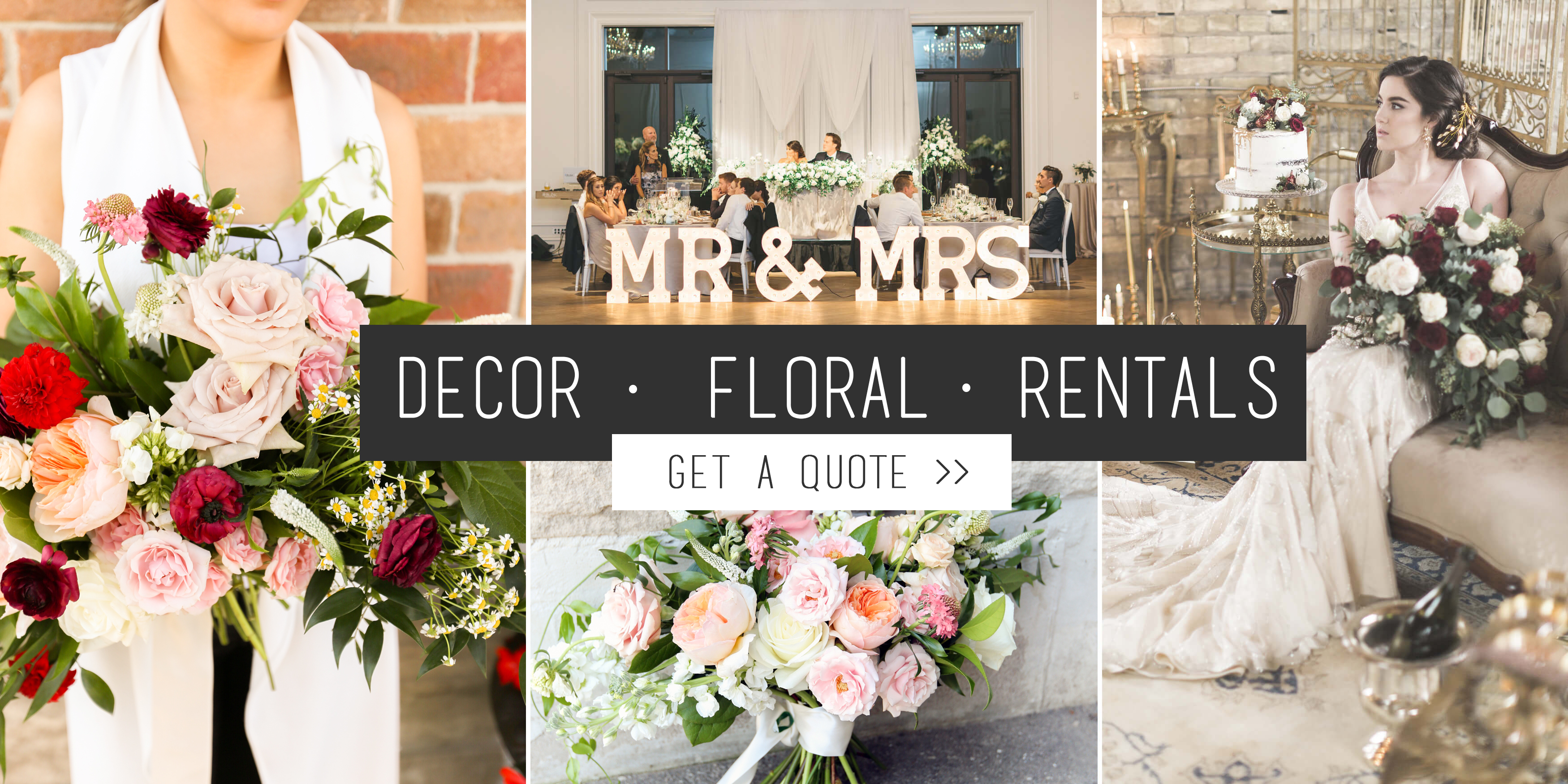 Toronto florist decorator event rentals events weddings gta vintagebash events and wedding decor floral event rentals junglespirit