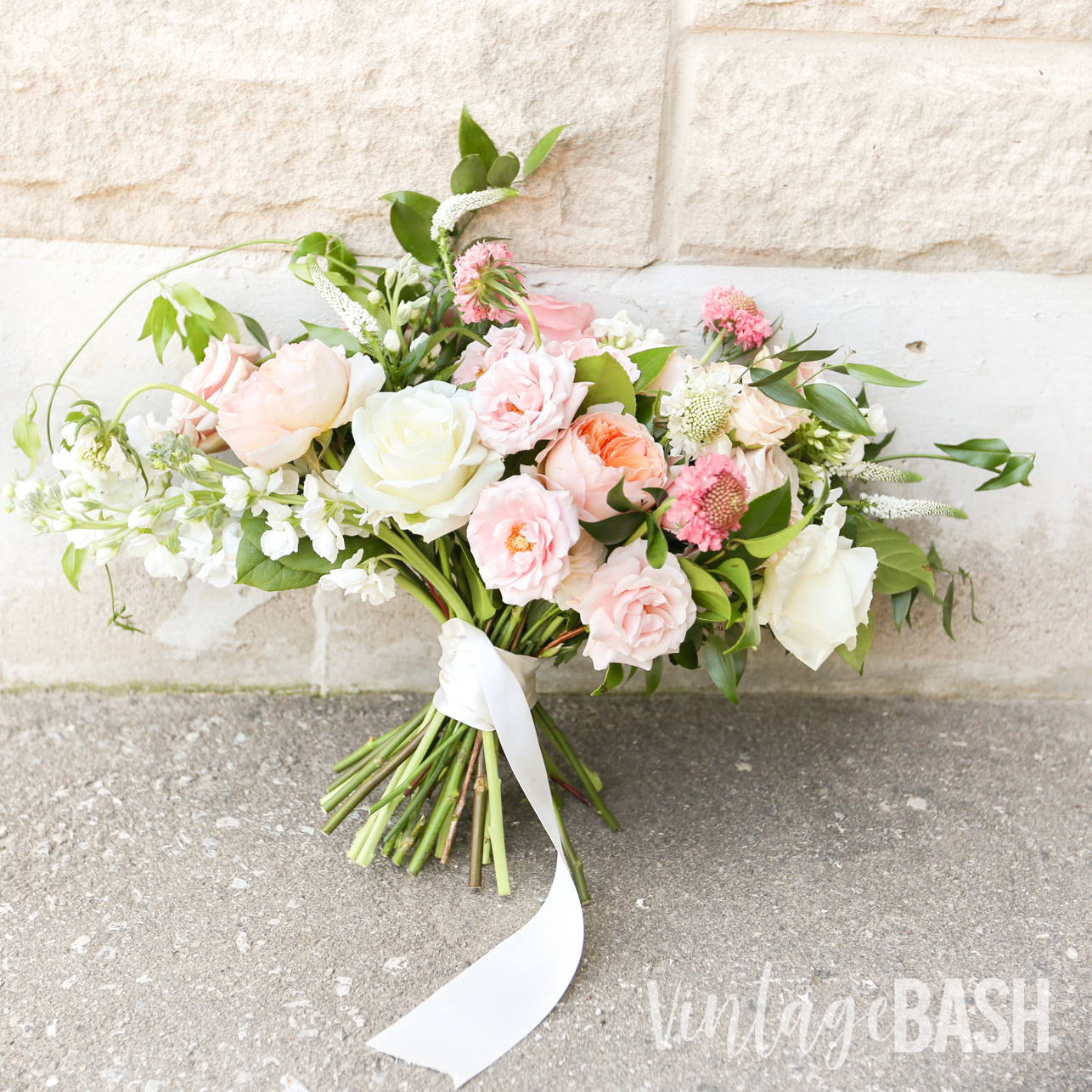 Blush Wedding Bouquet Boho