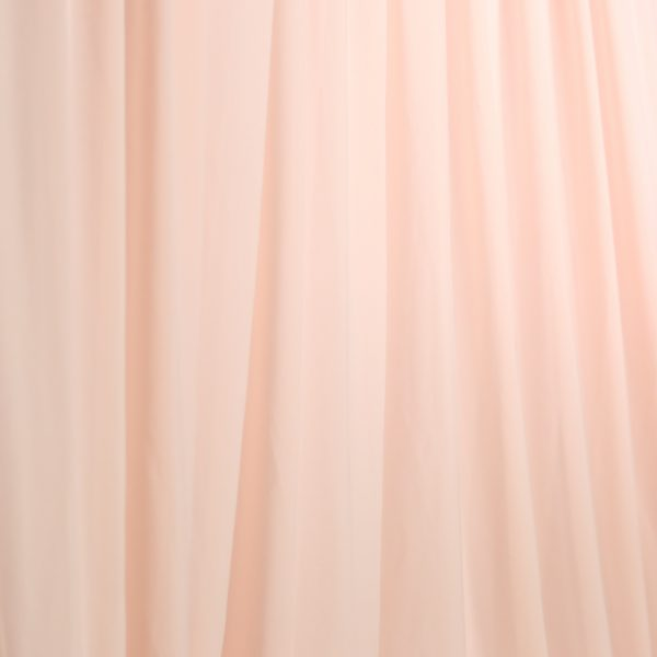 peach drape