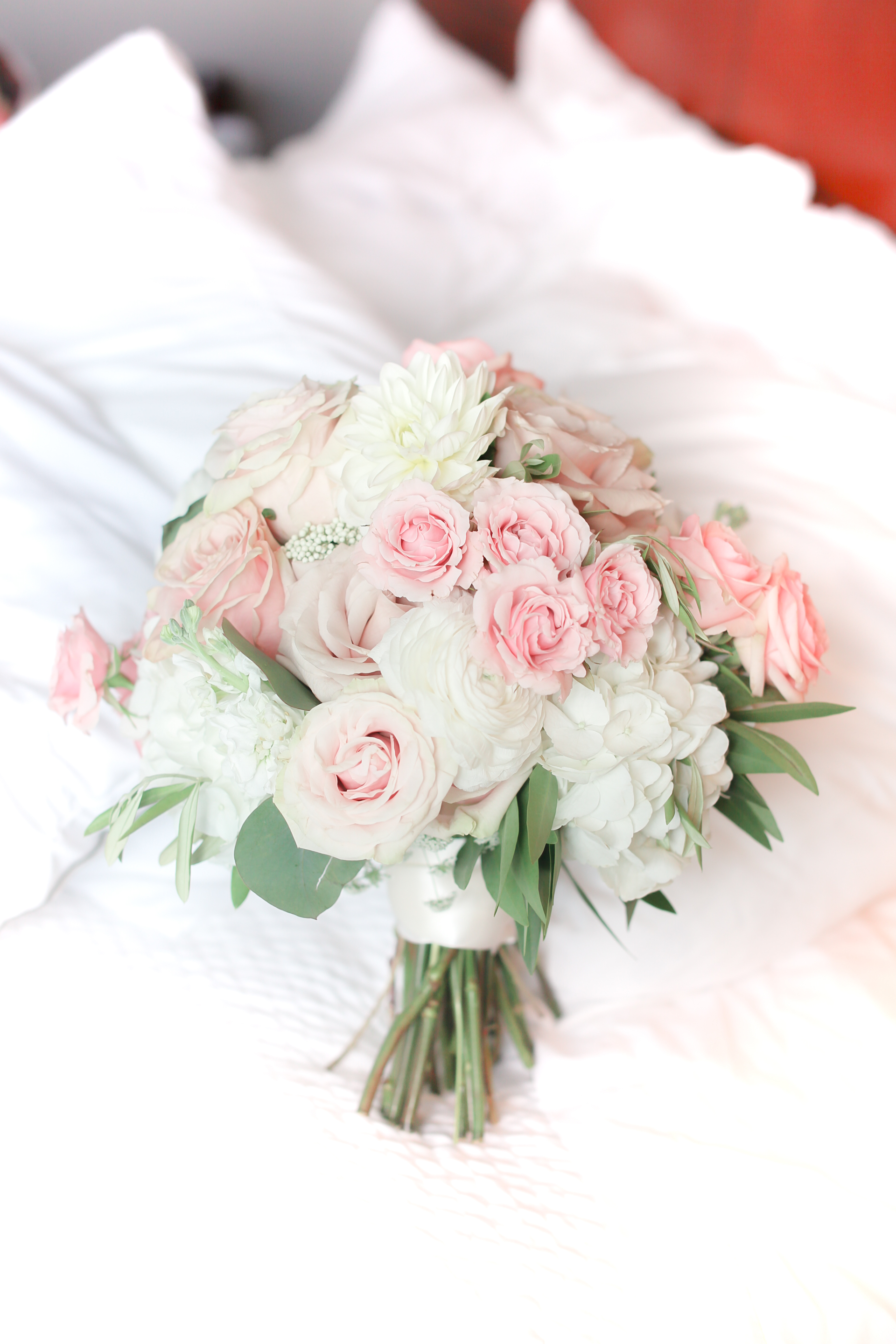 Bride Bouquet Blush Wedding Pink