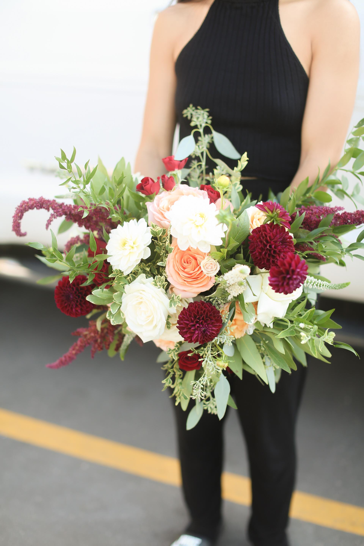 Shimmer Rose Bride Bouquet