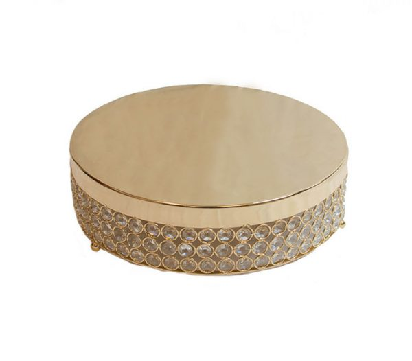 Helen Gold Cake Stand