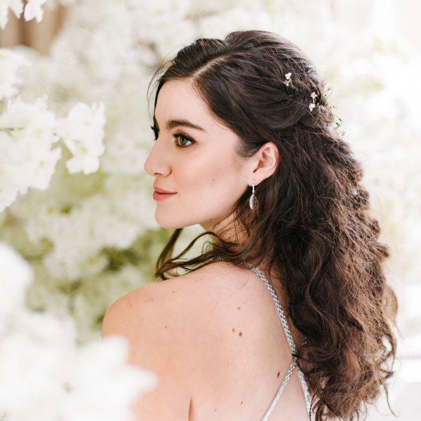 White Cherry Blossom Centrepiece