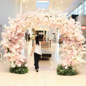 Cherry Blossom Arch Pink