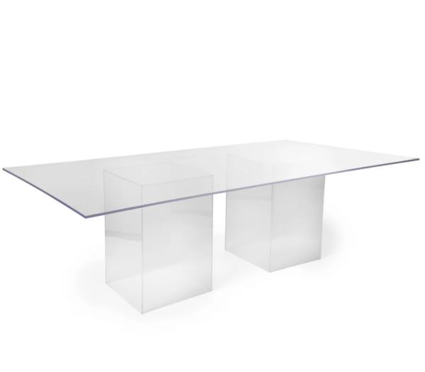 acrylic ghost table