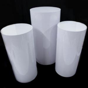 Round Plinths Acrylic