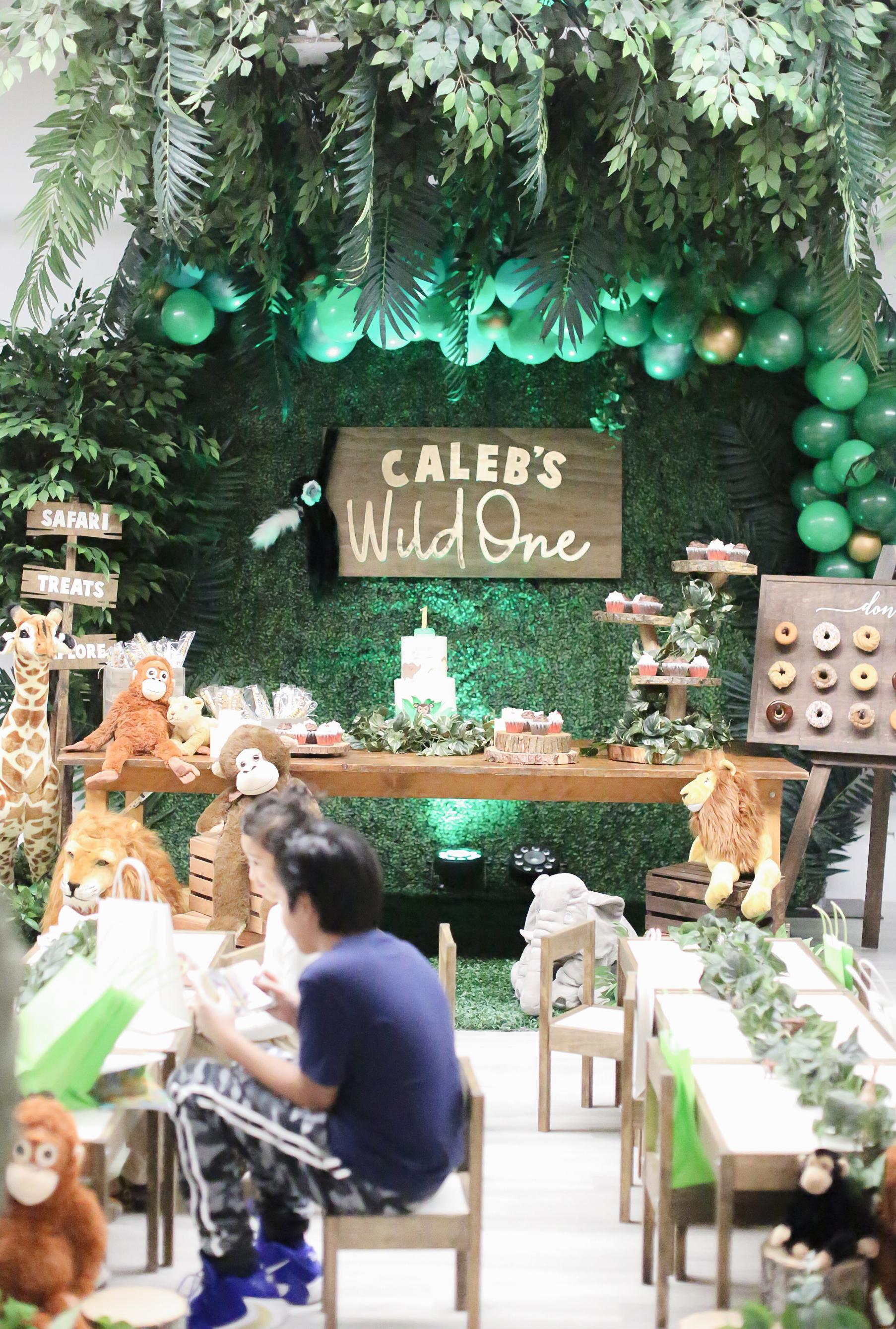 Safari Jungle Sweets Table Birthday