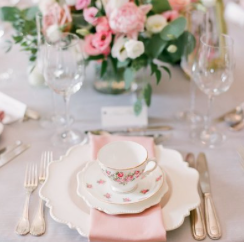 Plate Decor and Set up