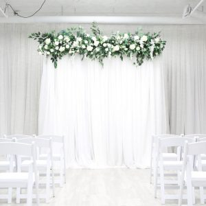 Drape Backdrop Greenery