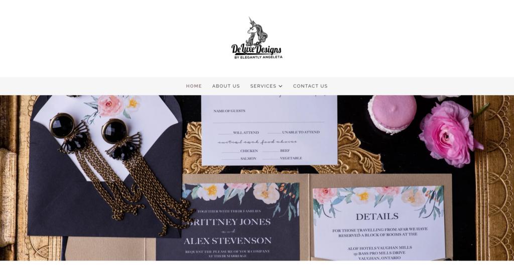 De Luxe Designs by Elegantly Angeleta
